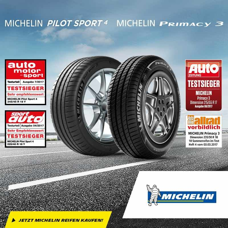 Michelin PS4, P3